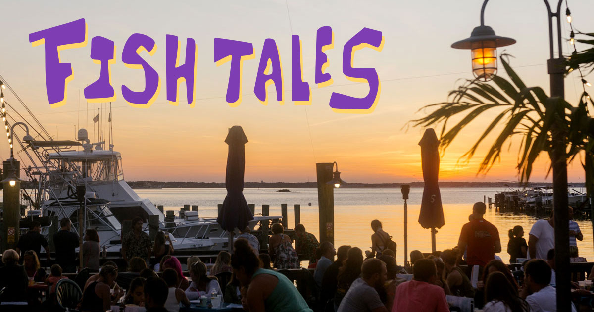 Food and Drink | Fish Tales Bar & Restaurant in Ocean City Maryland